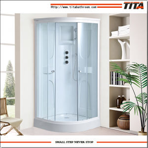 White Acrylic Back Shower Cabin Alps-C pictures & photos