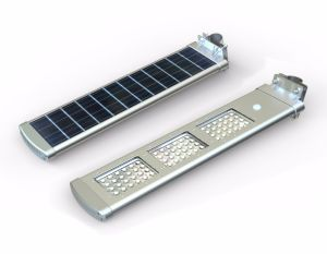 30W Multifunction All in One Solar Street Light with Pole pictures & photos
