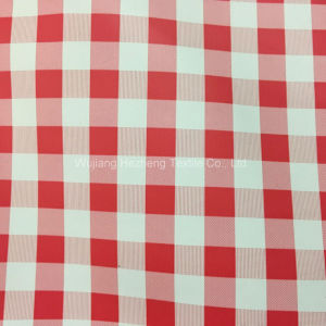 Hz4676 Print PU Coated Woven Fabric for Outdoor pictures & photos