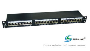 24 Port Lsa IDC FTP Cat. 6 Patch Panel pictures & photos