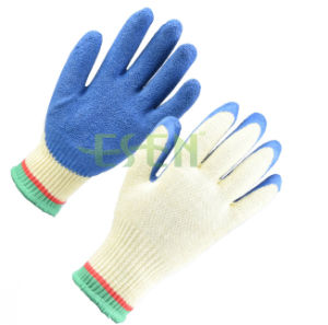 2017 Cotton Shell Nitrile Coated Safety Work Gloves Industrial Gloves pictures & photos