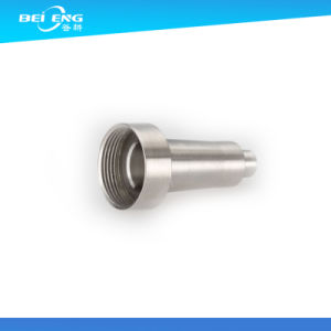 Custom CNC Machining Hollow Threaded Pneumatic Hydraulic Fitting pictures & photos