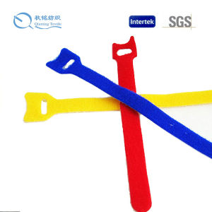High Quality Adjustable Hook and Loop Strap, Customized Color Nylon Material Hook and Loop pictures & photos