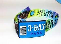Sublimation Printed Promotional Woven Wristband pictures & photos