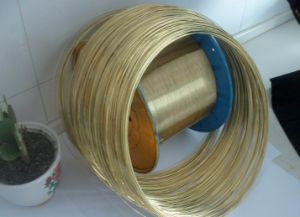 Steel Wire for Mattress and Sofa Brass Coated Steel Wire pictures & photos