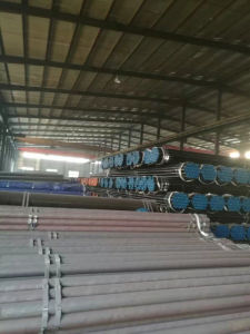 "6"" Schedule 40 ASTM A53 A106 Grade B Black Carbon Seamless Steel Pipe pictures & photos"