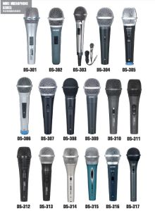Ds-316 Good Quality Dynamic Microphone Wired Microphone pictures & photos
