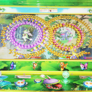 Happy Fishing Indoor Coin Operated Children Entertainment Lottery Arcade Game Machine with Colorful Fishes pictures & photos