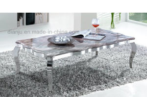 White Marble Home Furniture Square Coffee Table (CT8113L) pictures & photos