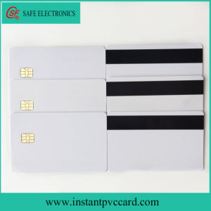 Double Sides Printable Magnetic Stripe PVC Card with 4442 Chip pictures & photos