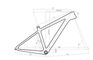 Wholesale Mountain Bike Parts MTB Bicycle Carbon 26er Frame pictures & photos