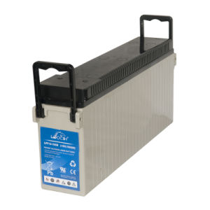 100ah Front Terminal Battery for Power Station System pictures & photos