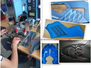 Plastic High Frequency Welding Machine for Shoe Making pictures & photos