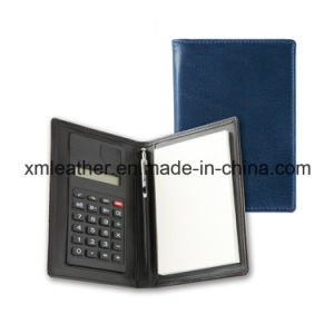 Pocket Size PU Leather Cover Jotter Note Pad pictures & photos