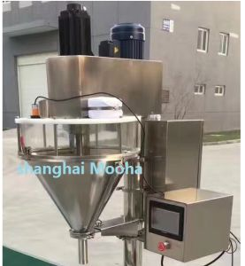 Curry Powder/Chemical Powder/Bleaching Powder/Detergent Powder Stand Bag Auger Filling Packaging Machine pictures & photos