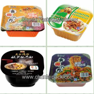 Automatic Instant Noodle Tray Sealing Machine pictures & photos