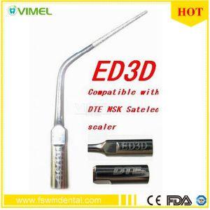 Dental Woodpecker Ultrasonic Scaler Endodontics Tip ED3d Fit Dte Satelec Handpiece pictures & photos