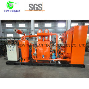 Small Scale Vertical Type Motor Driving CNG Natural Gas Compressor pictures & photos