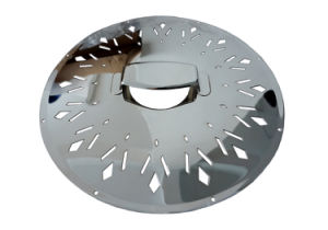 Wholesale Cheap Chromed Silver Gloss Resonator Guitar Parts Accessory Coverplate pictures & photos