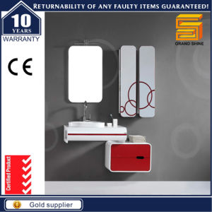 European Gloss Painted Wall Mounted Bathroom Combination Vanity Unit pictures & photos