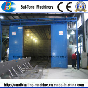 High Efficient Sandblasting Room for Steel Parts pictures & photos