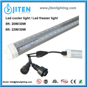 22W V Shape 6FT T8 LED Cooler Tube Light, ETL LED Freezer Light for Walk-in Refrigerator pictures & photos