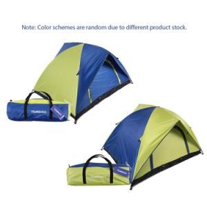Double Layer Double Door Camping Tent Leisure Tent (UV 30) pictures & photos