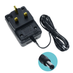 UK Plug 12V 400mA Wall AC DC Adapter Charger Switching Power Supply pictures & photos
