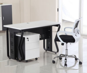 Single Seat Straight Desk Workstation Cluster Staff Office Partition (HX-NCD107) pictures & photos