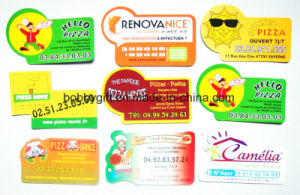 Cheap Printed Magnets Custom Business Card Size Magnet pictures & photos