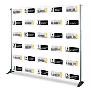 Custom Step & Repeat Stand Backdrop Fabric Banner pictures & photos