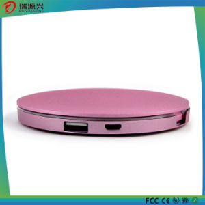 Beautiful Lady Power bank with mirror and LED lighting pictures & photos