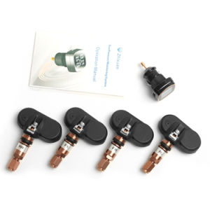 TPMS Tyre Pressure Monitoring System 4 Internal Sensors Cigarette Lighter Tmps Tire Pressure Alarm pictures & photos