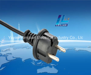 Germany VDE Style Extension Cord Plug with 16A Hot Sale pictures & photos