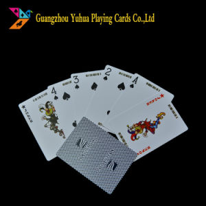 Duplex Manufacturer Cmyk Printing Blackcore Paper Material Poker Yh37 pictures & photos