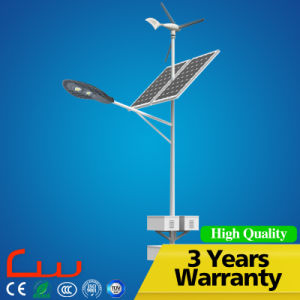 3 Years Warranty 60W 8m Wind Solar LED Street Light pictures & photos