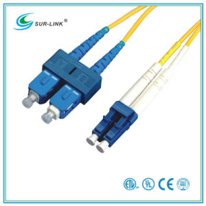 SC/PC-LC/PC Sm 9/125 Duplex with Clips 2m Fo Patch Cord pictures & photos