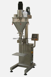 Semi Automatic Weigh-Fill Powder Filling Machine pictures & photos
