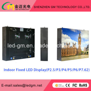 Indoor High-Definition TV Wall P2.5/P3/P3.91/P4/P4.81/P5/P6 LED Display pictures & photos