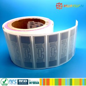 EPC GEN2 Higgs4 ALN9762 H4 adhesive UHF RFID security tag pictures & photos