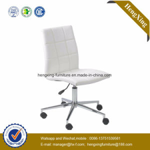 No Arm Metal Visitor PU Gust Chair Hx-E054 pictures & photos