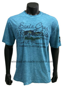 Leisure T-Shirt for Men with Dirty Wash pictures & photos