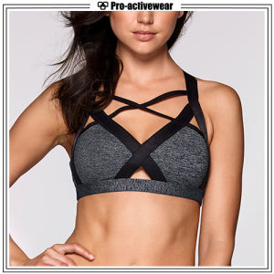 Custom Wholesale Gym Wear Fitness Women Sports Bra pictures & photos