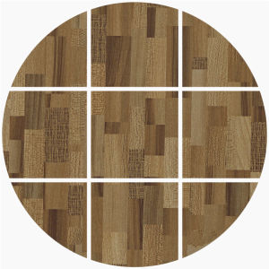 Elm Parquet Woodgrain Flooring Paper pictures & photos