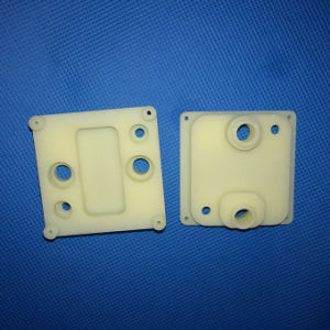 Customized CNC Machining Plastic and Aluminum Block pictures & photos