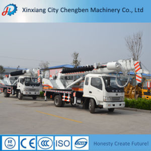 Mini 6ton Drilling Truck Crane with Auger pictures & photos