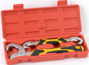 Adjustable Quick Snap′n Grip Wrench Spanner Kit (JD6134) pictures & photos