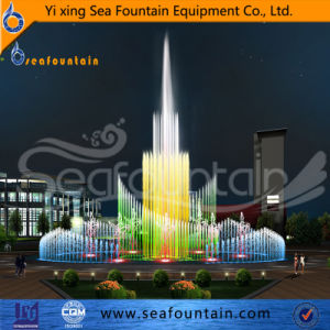 Music Changeable Outdoor Pool Fountain pictures & photos