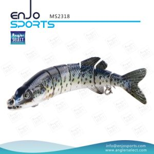Multi Jointed Fishing Life-Like Lure Swimbait Shallow Fishing Tackle Fishing Lures (MS2318) pictures & photos