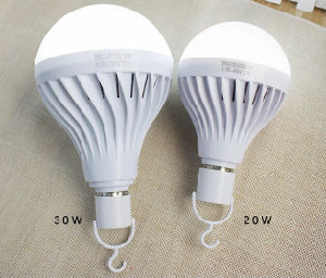 Intelligent Rechargeable Light on Alibaba China 9W Emergency LED Bulb pictures & photos
